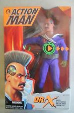 MIB 1995 KENNER ACTION MAN DR.X WITH ELECTRONIC BRAIN & LASER EYE ACTION FIGURE