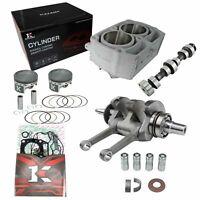 Big bore Cylinder Pistons Engine stroker Bore crankshaft Kits +2.4mm RZR 800