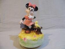 Schmid music box Minnie Mouse Vintage