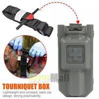 Tourniquet+Tactical Holster Carrier Holder Case Hunting Molle Emergency Survival