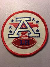 """Lamar Hunt Memorial Kansas City Chiefs NFL 4"""" AFL Iron On Uniform Shoulder Patch"""