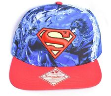 ad789a94063 Bioworld Men s Hat One Size Polyester Baseball Cap Snapback Superman