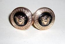 Versace Medusa Head Cufflinks-Unisex Metal Cufflinks.Perfect Condition
