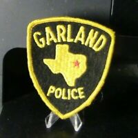 Patch Retired: Garland Texas Police Patch