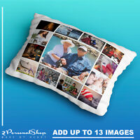 Personalised Photo Pillowcase Cushion Pillow Case Cover Custom Gift 13 pics