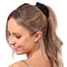 Gioia Casa Luxury Silk Scrunchie 3 Pack (Black)