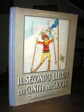 P902_Bernasconi IL SECONDO LIBRO DEI CONTI E DEI GIOCHI Ill. Cenni Paravia 1932