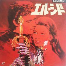 EL CID (1961) CHARLTON HEASTON - SOPHIA LOREN - 2 JAPAN LASERDISC