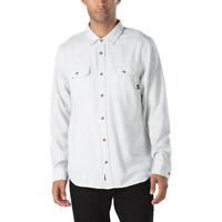 Vans Off The Wall Men's Pembroke L/S Woven Shirt (Retail $55)