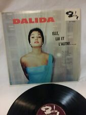 DALIDA - DALIDA ELLE, LUI ET L'AUTRE.. 1960 BARCLAY RECORDS - CANADIAN PRESS LP