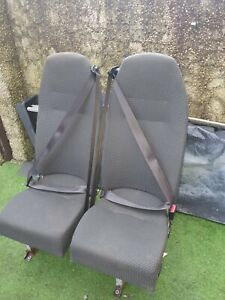 Mercedes Minibus Twin/Double Seats with seat belts,
