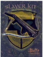 Buffy TVS Season 1 Chase Card Slayer Kit S5  A Crossbow
