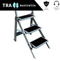 Triple Folding Caravan Step Portable RV Ladder Camper Trailer Parts Jayco