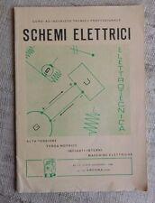 Schemi elettrici  alta tensione, forza motrice...corsi ad indirizzo tec. prof.