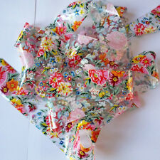 BIG FLOWERS Clear Nail Art Foil Decoration Wrap Transfer