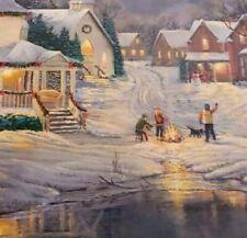Evening Light Puzzle 1000 Sam Timm EuroGraphics Snow Winter Christmas Complete