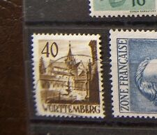 franzosische zone Wurttemberg 35 (stempel falsch) 50,- Euro