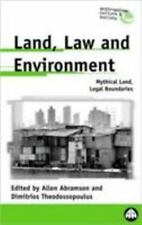 Land, Law and Environment: Mythical Land, Legal Boundaries-ExLibrary