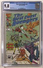 West Coast Avengers #10 CGC 9.8 NM/MT 1st Appearance of Headlok - Marvel Comics