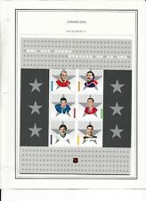 Mint Canada Stamps 2005  NHL All Stars in Cover