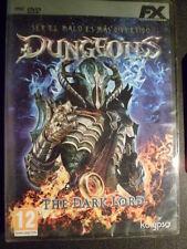 Dungeons The Dark Lord Nuevo precintado PC Rol táctico acción en castellano.