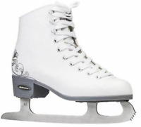 Bladerunner Allure Adult Woman's Ice Skates White Size US 10 Wide