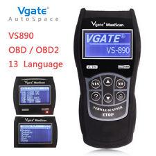 Universal ALL Car Fault Reader Code Scanner Diagnostic Tool OBD2 II -VS890 Reset