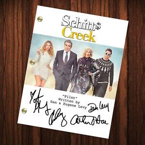 Schitt's Creek Autographed Signed Script Reprint Schitt's Creek Cast Autograph