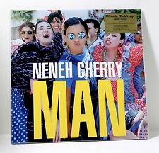NENEH CHERRY Man 180-gram BLUE COLORED VINYL LP Sealed NUMBERED