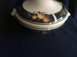 Wedgwood Citrons lidded vegetable bowl / terrine
