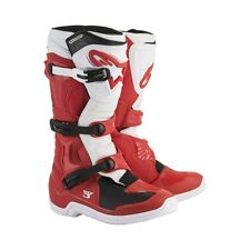 Alpinestars Red White Tech 3 Men's Size 14 Off Road MX Boots 2013018-32-14