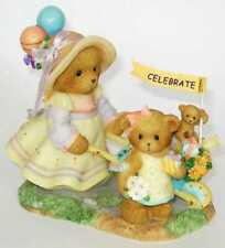 Cherished Teddies ANNELIESE and ELISA On Our Way To A Grand Celebration 4007333