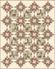 "Marches De Noel quilt kit by 3 sisters Moda size quilt 72"" x 90"" runner 18"" x 36"