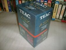 VHS - TEAC E-180 - 5 Brand New 3 Hour Factory Sealed blank tapes - Hard to Find