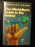 The Hitchhiker's Guide to the Galaxy Douglas Adams 1980 HCDJ First Edition/1st P