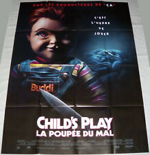 CHiLD'S PLAY  toy doll horror Chucky Aubrey Plaza Bateman  LARGE French POSTER