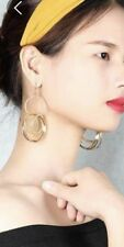 Earring Boho Festival Party Boutique Uk Gold Hoop Ring Bling Drop Luxury Fashion