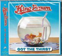 New! KING PRAWN Got the Thirst CD JAPAN IMPORT Obi 3 Bonus Tracks UK Ska Punk