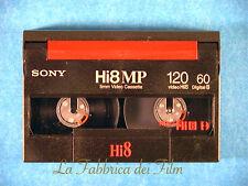 RIVERSAMENTO Videocassette Sony8 Hi8 su DVD