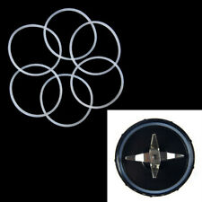 4Pcs replacement gaskets rubber seal ring for magic bullet flat cross blade nh3