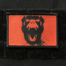 12 Monkeys Morale Patch Tactical ARMY Military Badge Movie USA Hook Flag Funny