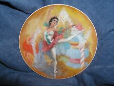 """""""THE SUGARPLUM FAIRY"""",Shell Fisher, 3rd """"Nutcracker Ballet Plate Collection"""""""
