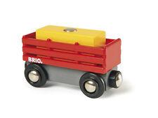 BRIO 33565 Heuwagen mit Heuballen
