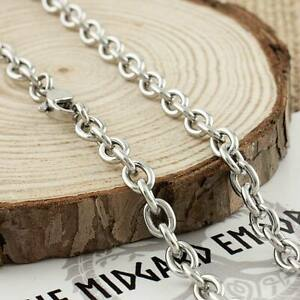 Stainless Steel Cable Chain Necklace 3, 4, 5, 6 and 8mm Thickness