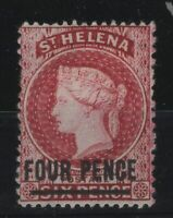 G129968/ ST HELENA / BRITISH COLONY / SG # 24 MINT MH – CV 220 $