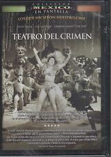 DVD - Teatro Del Crimen NEW Coleccion Mexico En Pantalla FAST SHIPPING!