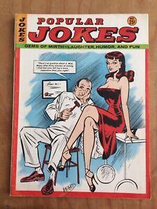 POPULAR JOKES Gems of Mirth Laughter Fun 5/65 HUMORAMA Vintage Humor Gags