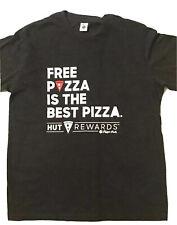 Pizza Hut Mens Shirt Medium 'Free Pizza Is The Best Pizza'
