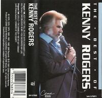 The Best of Kenny Rogers  (Cassette 1992, EMI-Capitol, CEMA Special) USED VG