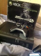 Microsoft Xbox 360 Elite Modern Warfare 2 Limited Edition 250 GB Glossy Black...